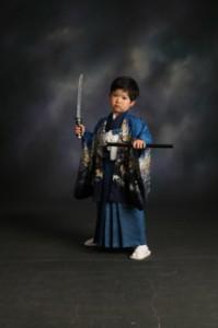 剣士 刀 袴 七五三