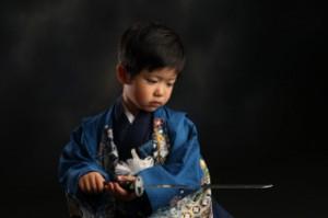 剣士 刀 袴 七五三 らかん
