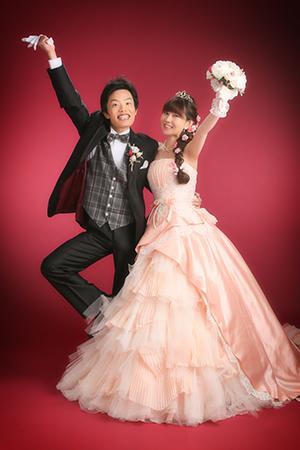 結婚写真,ドレス