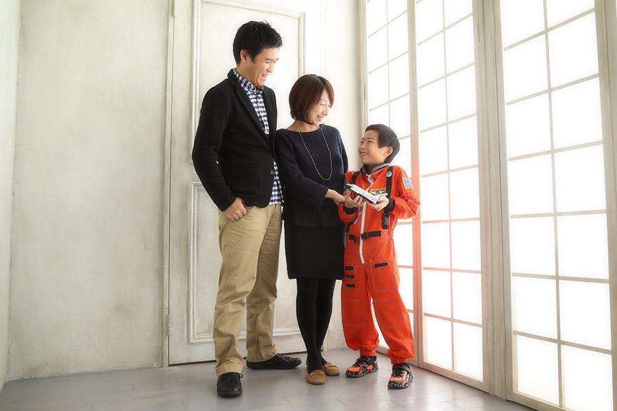 原宿 家族写真