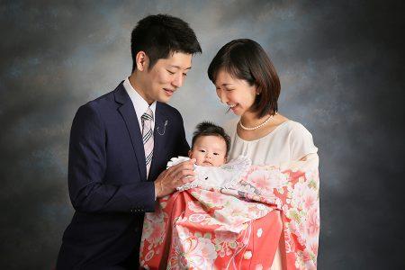 お宮参り 赤ちゃん 写真