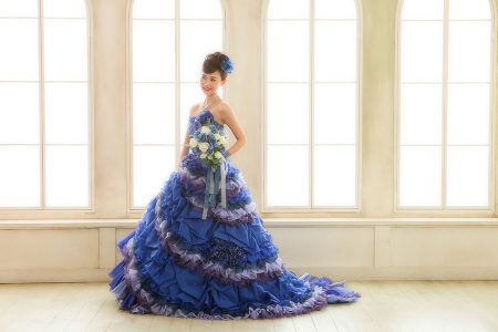 成人式 ドレス 写真