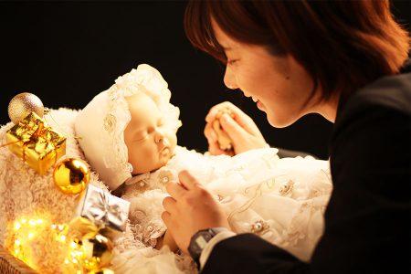 人形を使って練習