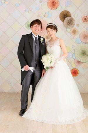 3結婚記念 ウェディングフォト