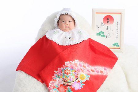 お宮参り 写真 赤ちゃん