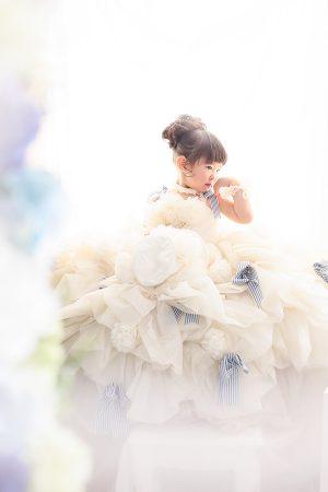 女の子 ドレス ちびっ子写真展