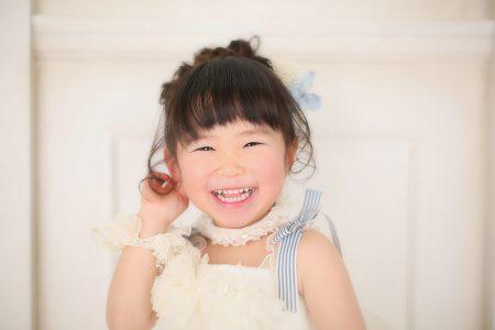 3歳 女の子 ドレス ちびっ子写真展