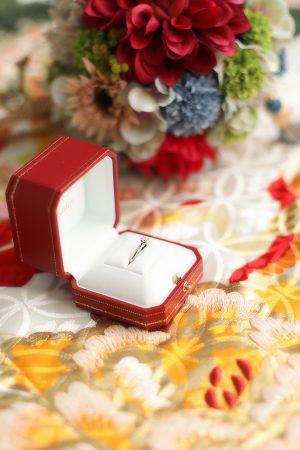 フォトウェディング 婚礼 結婚指輪
