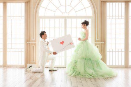 婚礼 カラードレス