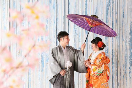 婚礼 和傘