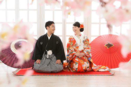 婚礼 和装 桜